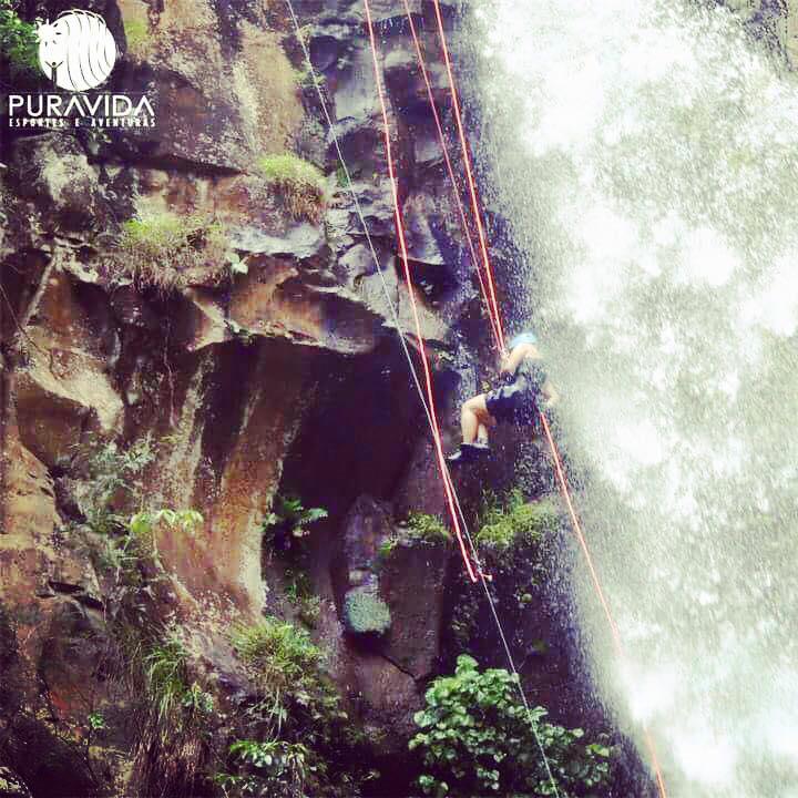 Cachoeira dos Quatis, Brotas, SP - Brasil