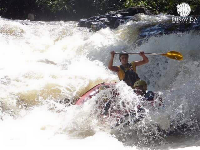 Rafting em Brotas - Vaca Náutica