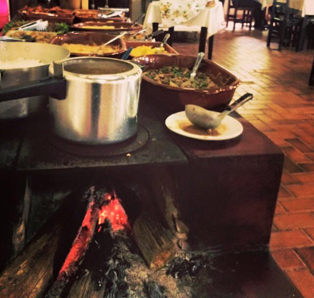Fazenda Cassorova - Almoço