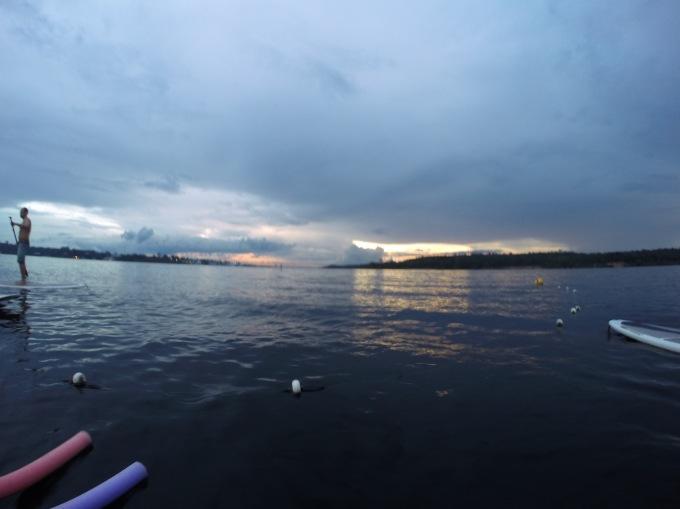 Por do Sol no Abaré, Manaus