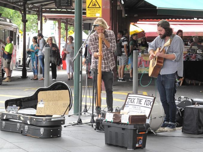 Jack The Fox - Queen Victoria Market - Melbourne - Austrália