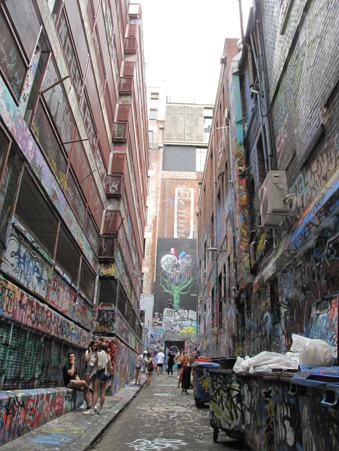 becos grafitados - graffiti - Melbourne - street art - bah almeida