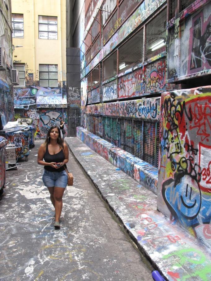Becos Grafitados - Graffiti - Melbourne - Austrália
