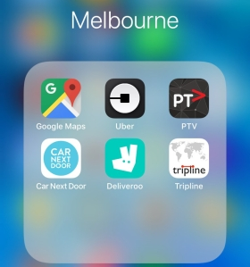 Apps úteis - Melbourne